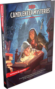Dungeons and Dragons RPG: Candlekeep Mysteries Hard Cover