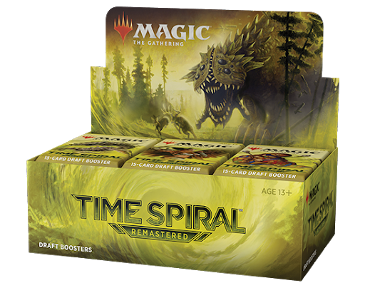 Magic: The Gathering - Time Spiral Remastered Draft Booster BOX