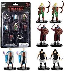 MONSTER ADVENTURE MINIS: PAINTED FIGURES: HUMAN BANDITS (8 PACK)