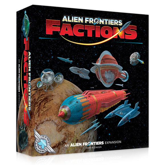 Alien Frontiers: Factions, 3rd Edition