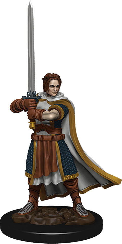 D&D Icons of the Realms: Premium Miniature - Human Male Cleric