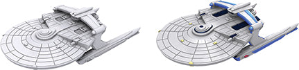 Star Trek Deep Cuts Unpainted Ships: Miranda Class