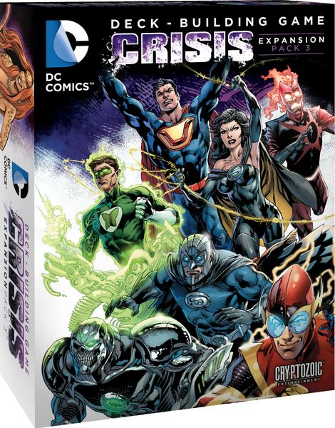 DC Comics DBG: Crisis Expansion 3