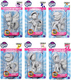 My Little Pony Deep Cuts Unpainted Miniatures: Apple Jack