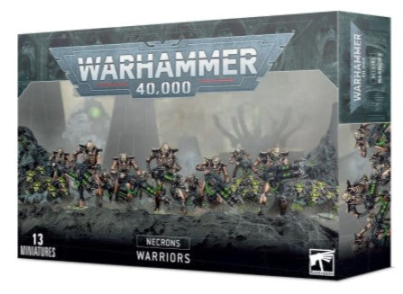 Warhammer 40,000 - Necrons Warriors