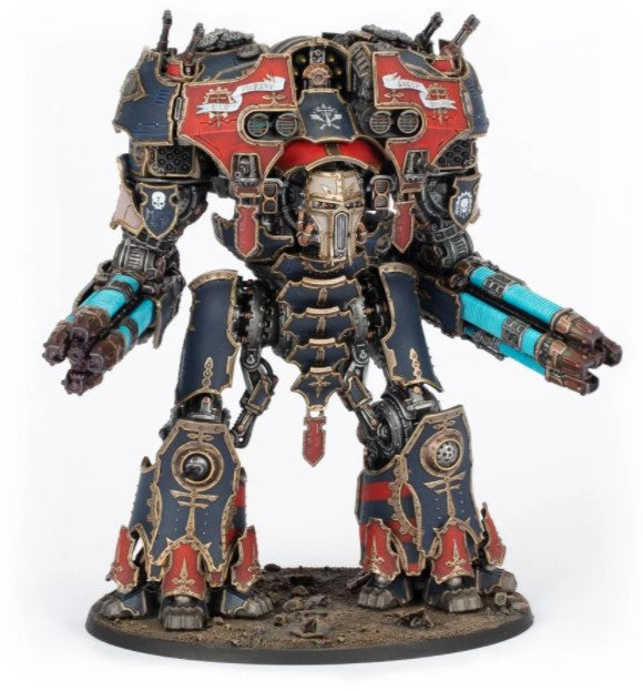 Warmaster Titan with Plasma Destructors