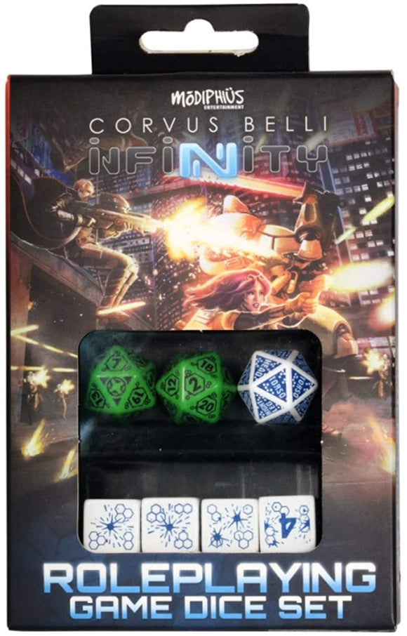 Infinity RPG: Dice Set- Ariadna Box