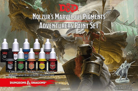 Dungeons & Dragons Nolzur`s Marvelous Pigments: Adventurers Paint Set
