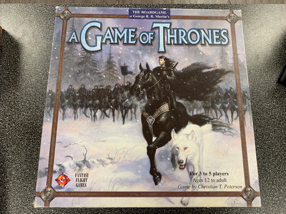 CONSIGNMENT - A Game of Thrones (1st Edition)