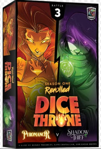 Dice Throne: Season 1 Rerolled - Box 3 - Pyromancer vs. Shadow Thief