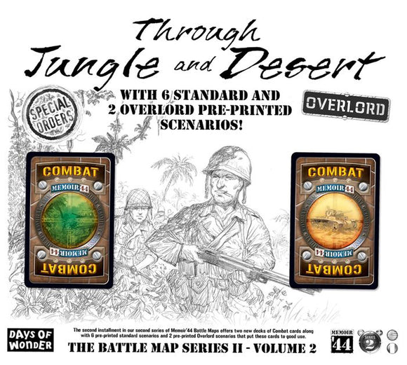 Memoir '44: Jungle and Desert - Overlord