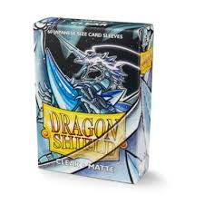 Dragon Shields: (60) Classic Clear Japanese Sleeves