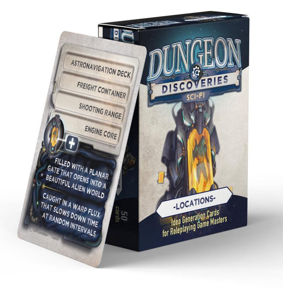 Dungeon Discoveries: Sci-Fi Locations