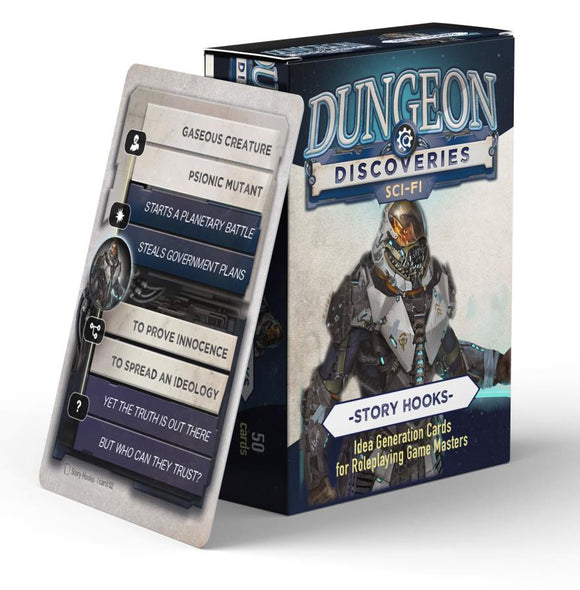 Dungeon Discoveries: Sci-Fi Story Hooks