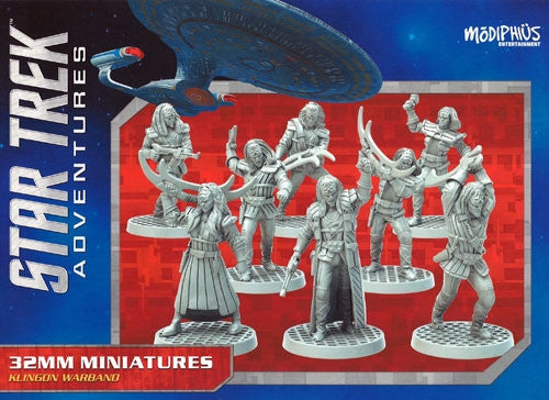 Star Trek Adventures RPG: Klingon Warband Miniatures