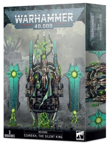 Warhammer 40,000 - Necrons Szarekh, The Silent King