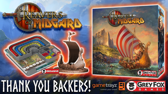 Reavers of Midgard - KICKSTARTER EDITION (Ultimate Conquerer pledge)