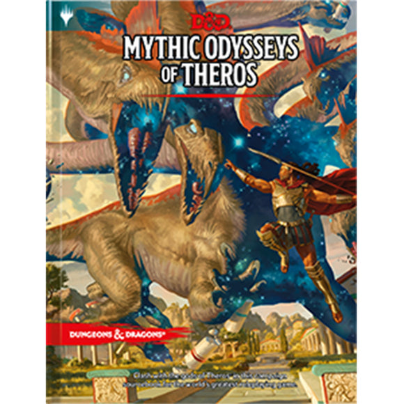D&D 5th Edition: Mythic Odysseys of Theros (Hardcover)
