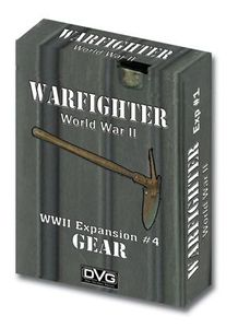Warfighter WW2 Tactical Combat Card Game - Expansion 4 (Gear)