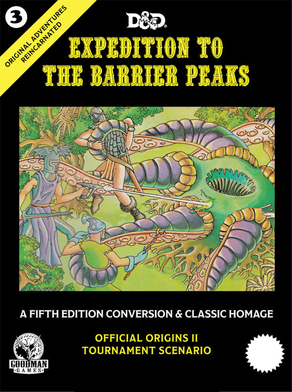 Dungeons & Dragons 5E - Original Adventures Reincarnated #3: Expedition to the Barrier Peaks