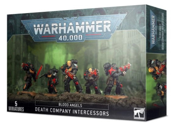 Warhammer 40,000 - Blood Angeles Death Company Intercessors