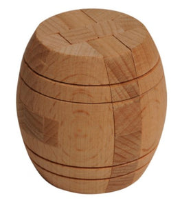 Wooden Barrel Puzzle