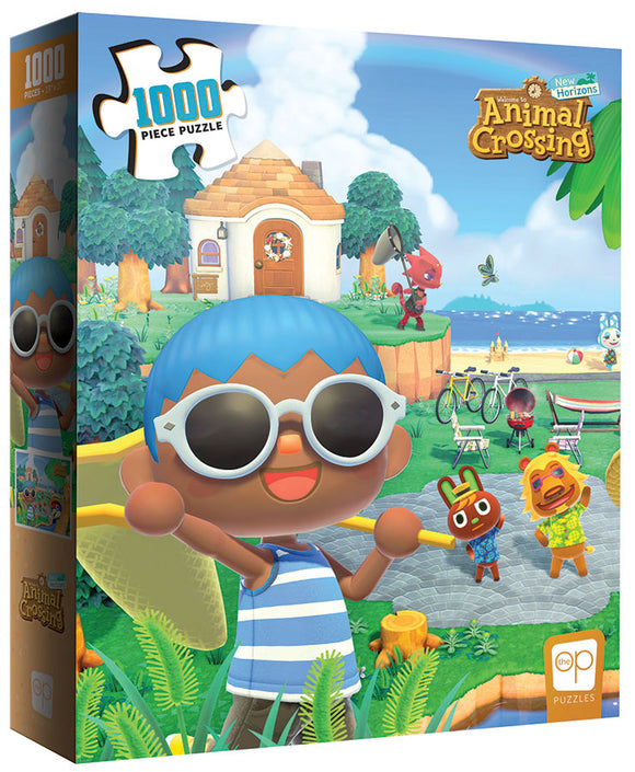 Puzzle: Animal Crossing - New Horizons - Summer Fun 1000pcs