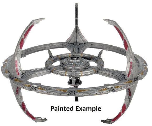 Star Trek Deep Cuts Unpainted Ships: Nor Class Orbital Space Station