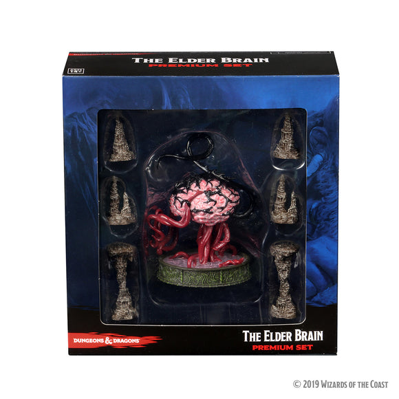 Dungeons & Dragons Fantasy Miniatures: Icons of the Realms Set 13 Volo & Mordenkainen`s Foes Premium Set - Elder Brain & Stalagmites