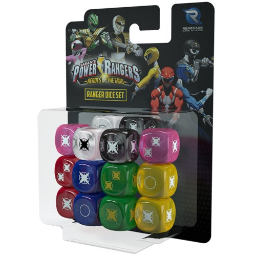 Power Rangers - Heroes of the Grid: Ranger Dice Set