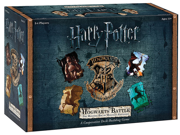 Harry Potter: Hogwarts Battle DBG - The Monster Box of Monsters Expansion