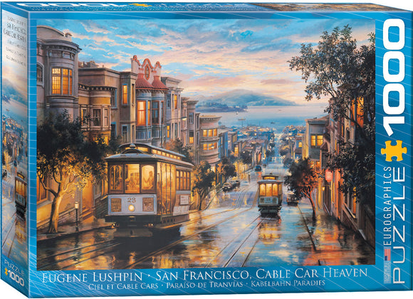 EuroGraphics San Francisco, Cable Car Heaven by Eugene Lushpin 1000-Piece Puzzle