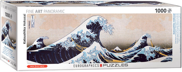 EuroGraphics Great Wave of Kanagawa 1000-Piece Puzzle