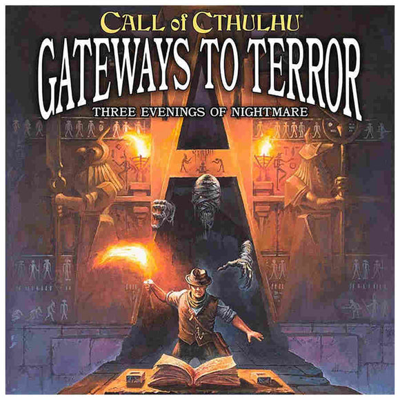 Call of Cthulhu RPG: 7th Edition Gateway to Terror