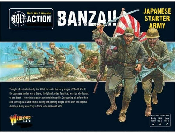 Bolt Action: Banzai - Japanese Starter Army