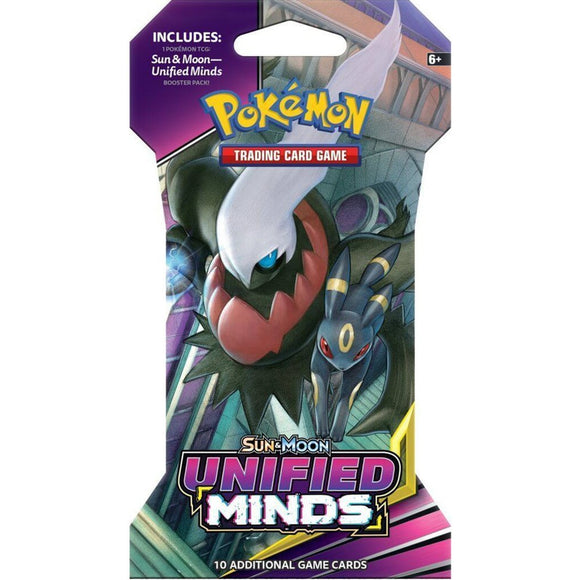 Pokemon TCG: Sun & Moon Unified Minds Sleeved Booster Pack