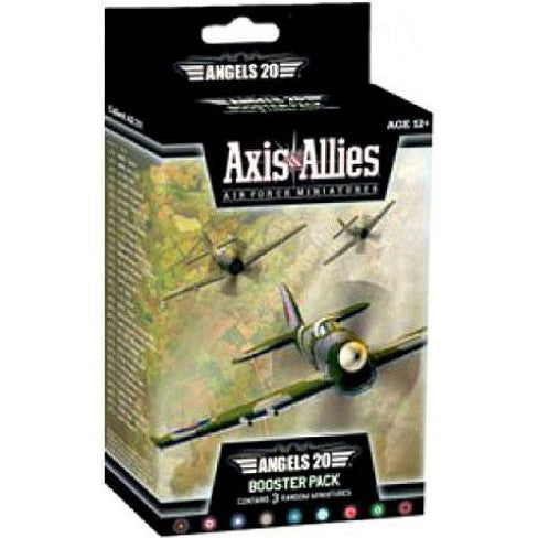 Axis And Allies Air Force Miniatures Angels 20 Booster Pack