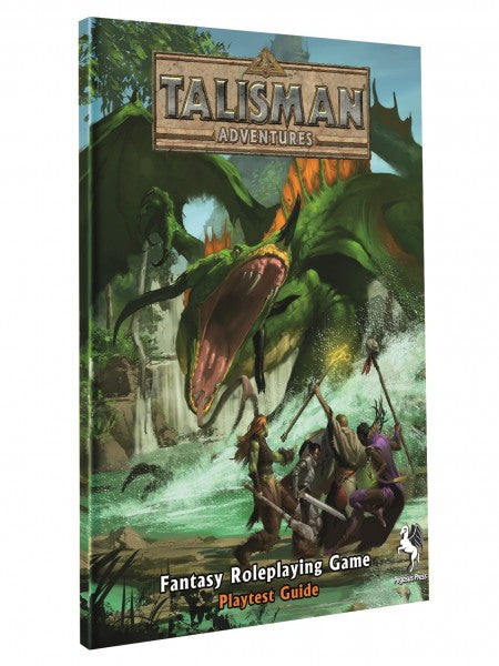 Talisman Adventures - Fantasy Roleplaying Game - Playtest Guide