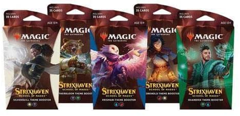 Magic the Gathering CCG: Strixhaven - School of Mages Theme Booster