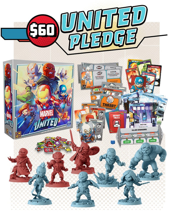 Marvel United - KICKSTARTER United Pledge