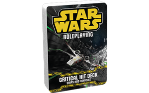 Star Wars RPG: Critical Hit Deck - Ships and Vehicles