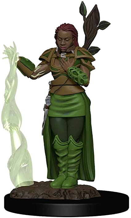 D&D Icons of the Realms: Premium Miniature - Human Druid
