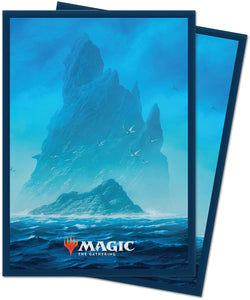 Deck Protectors: MTG  Unstable Deck Protector Sleeves (100 count) Island