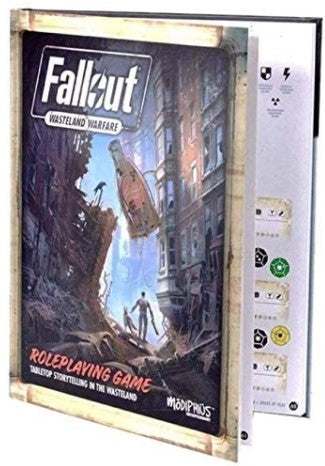 Fallout: Wasteland Warfare RPG - Core Rulebook STANDARD EDITION