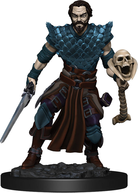 D&D Icons of the Realms: Premium Miniature - Human Male Warlock