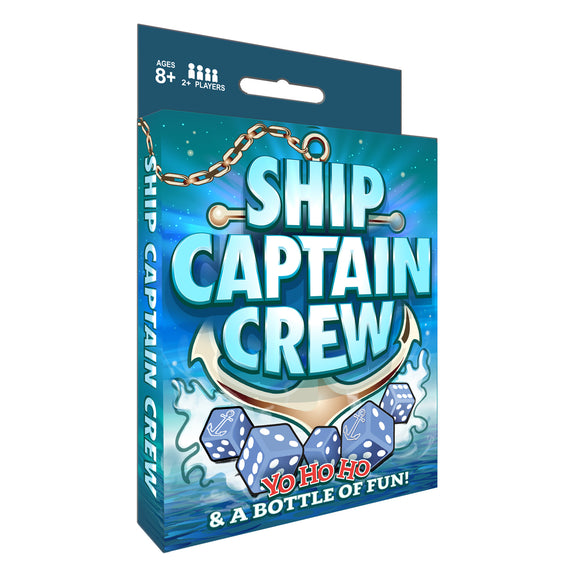 Ship Captain Crew Dice Game by WE Games