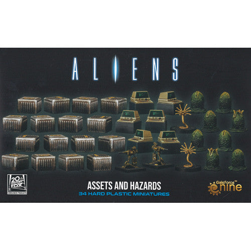 Aliens: Assets and Hazards 3D Gaming Set