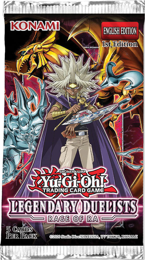 Yu-Gi-Oh! TCG: Legendary Duelists - Rage of Ra Booster Pack