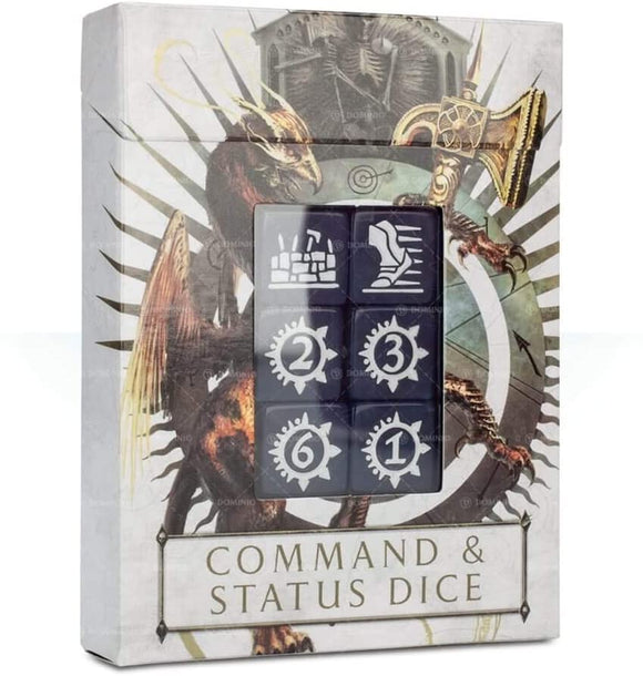 Warhammer Age of Sigmar - Command & Status Dice