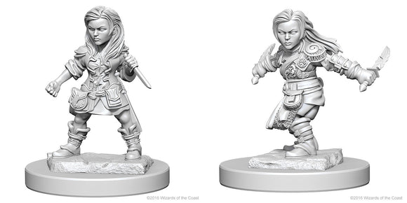 Dungeons & Dragons Nolzur`s Marvelous Unpainted Miniatures: W1 Halfling Female Rogue
